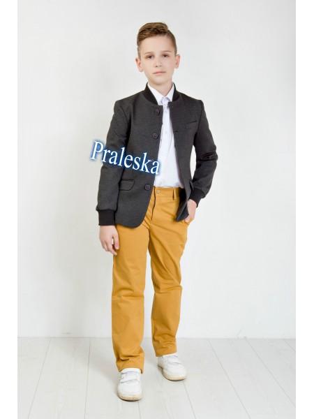 """Пиджак для мальчика Модель """"Бомбер"""""""